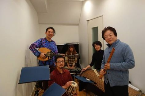 ayuo-akikazu-nakamura-yoko-ueno-toshiko-kuto-junzo-tateiwa-rehearsal